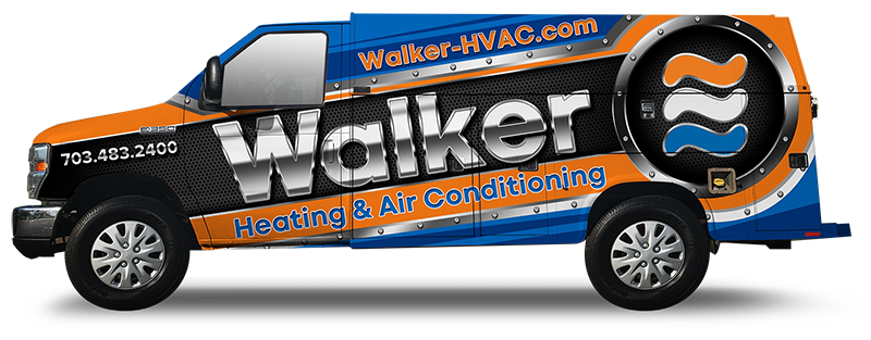 Walker-HVAC Company Vehicle