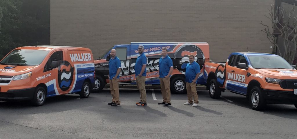 Our Team at Walker Heating & Air Conditioning